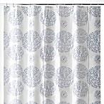 Mozaik 70-Inch x 72-Inch Shower Curtain in Blue