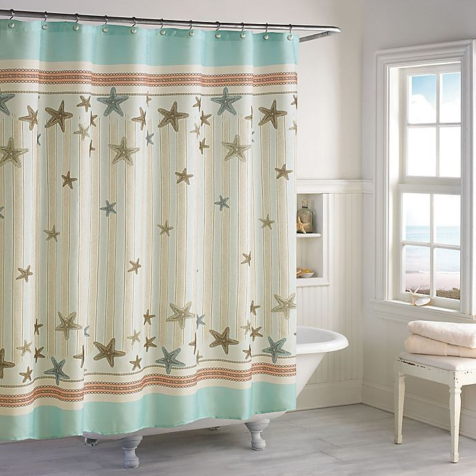Alternate image 1 for Tremiti 72-Inch x 72-Inch Shower Curtain