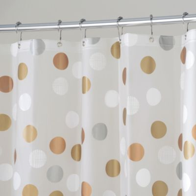 Interdesign Gilly Dot 72 Inch X Shower Curtain Bed Bath Beyond