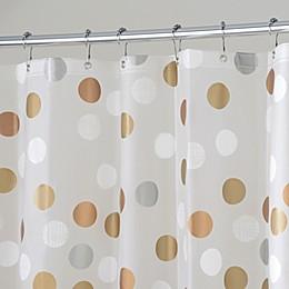 InterDesign® Gilly Dot 72-Inch x 72-Inch Shower Curtain