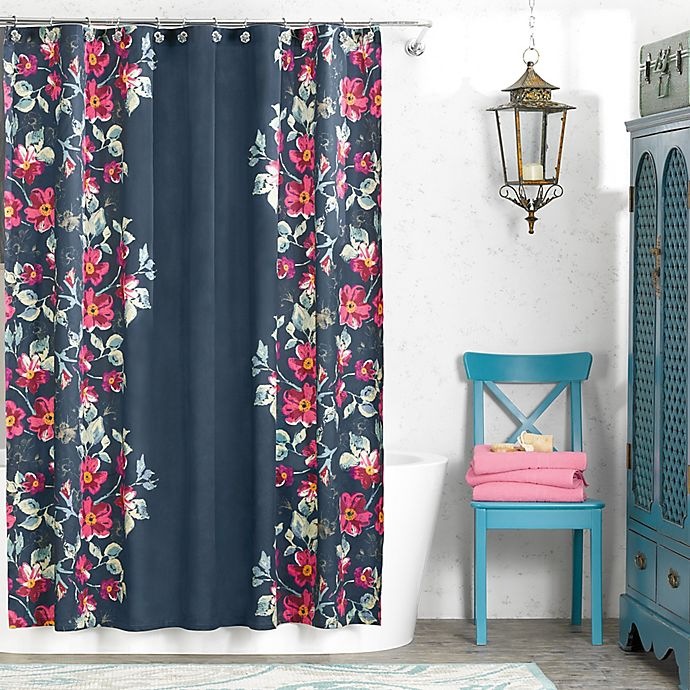 Anthology Penelope 72 Inch X 72 Inch Shower Curtain Bed