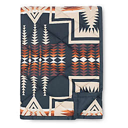 Pendleton® Harding Reversible Throw Blanket in Navy