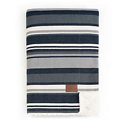 Pendleton® Brantly Stripe Reversible Throw Blanket in Navy
