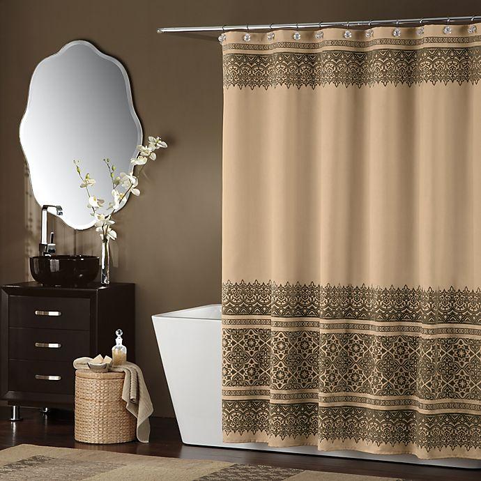 BombayTM Bargello Shower Curtain