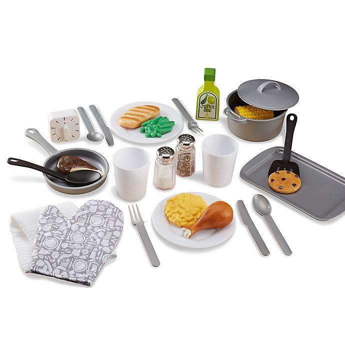 Alternate image 1 for Melissa & Doug® 20-Piece Kitchen Accessory Set