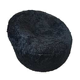 Iron Cloud™ Faux Fur Upholstered Papasan Chair