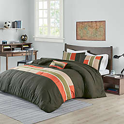 Mizone Pipeline Reversible Duvet Cover Set