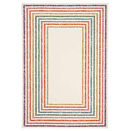 Marmalade™ Wren 5' x 7' Hand Tufted Area Rug with Rainbow Border