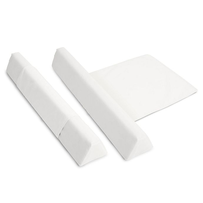 Alternate image 1 for Swaddleme™ Bed Rail Guard in White