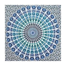 WallPops!® Loni 89-Inch x 80-Inch Wall Tapestry in Blue