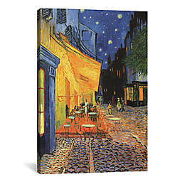 iCanvas The Cafe Terrace on the Place du Forum Canvas Wall Art