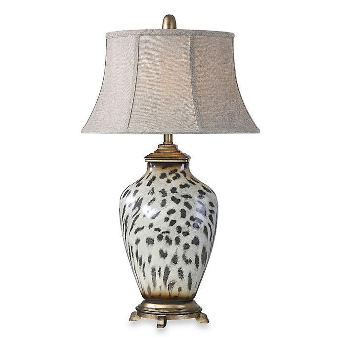 Uttermost Malawi Cheetah Print Table Lamp Bed Bath Amp Beyond