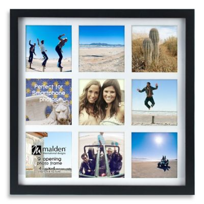 Malden 174 Smartphone 9 Opening Collage Picture Frame Bed