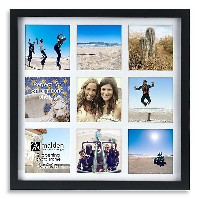Alternate image 1 for Malden® Smartphone 9-Opening Collage Picture Frame