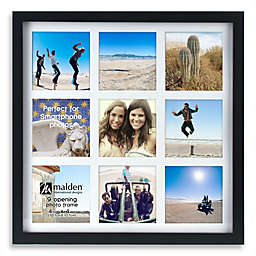 Malden® Smartphone 9-Opening Collage Picture Frame