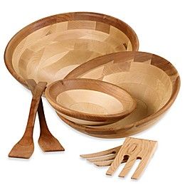 Snow River Maple and Cherry Finish 9-Inch Bowl