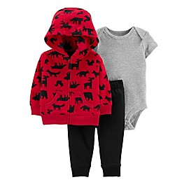 carter's® 3-Piece Woodland Creatures Little Jacket Set