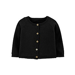 carter's® Dressy Cardigan in Black