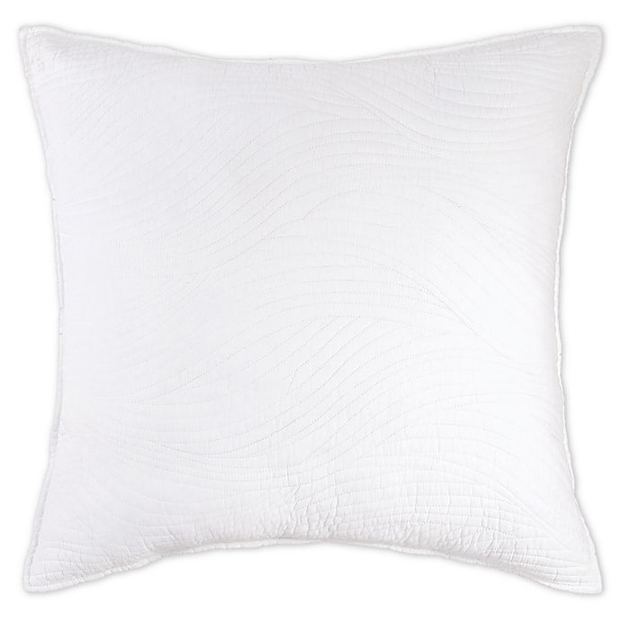 C F Home Tranquil European Pillow Sham In Aqua Bed Bath Beyond