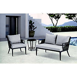 Madison Park Dustin Outdoor Seating in Grey