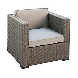 Atlantic Bellagio 2-Piece Patio Armchair Set in Grey with Sunbrella® Cushions