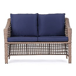 Bee & Willow™ Home All-Weather Wicker Loveseat