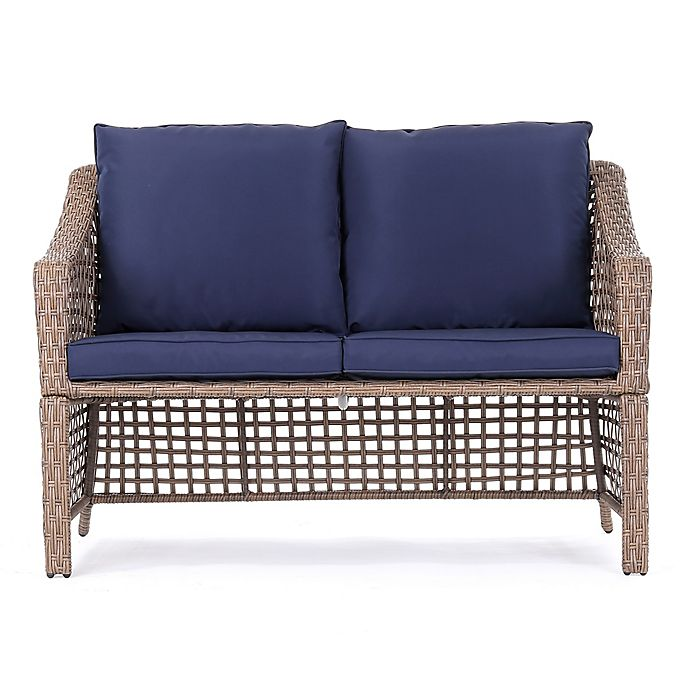 Alternate image 1 for Bee & Willow™ Home All-Weather Wicker Loveseat