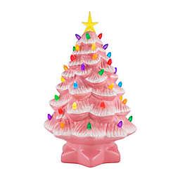 Mr. Christmas® 14-Inch Nostalgic Ceramic Christmas Tree in Pink