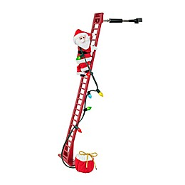 Mr. Christmas® Super Climbing Santa in Red