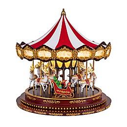 Mr. Christmas® Deluxe Lighted Christmas Carousel