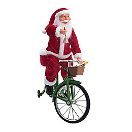 Mr. Christmas® Musical Cycling Santa