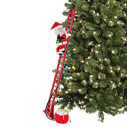 Mr. Christmas® Super Climbing Adorable Santa in Red
