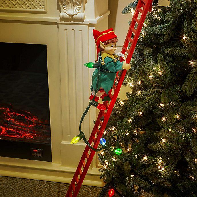 Alternate image 1 for Mr. Christmas® Super Climbing Elf