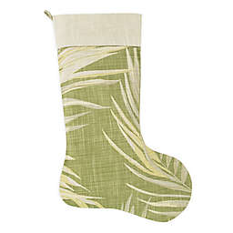 Canyon Palms Palm Green Holiday Stocking