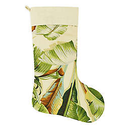 Palmiers Green Holiday Stocking