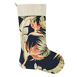 San Jacinto Indigo Holiday Stocking