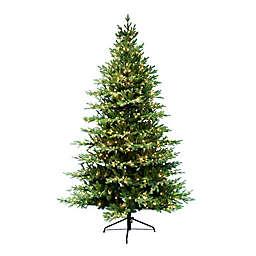 Puleo International® Balsam Fir Artificial Christmas Tree with Clear Lights