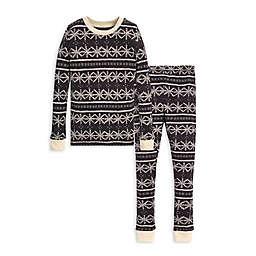Burt's Bees Baby® Frozen Fair Isle 2-Piece Big Kids Organic Cotton Pajama Set