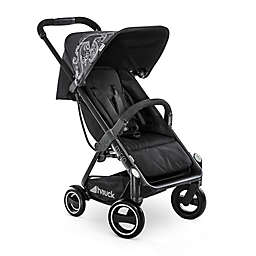 Hauck Micro Compact Stroller in Caviar with Adaptors