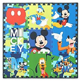 Disney® Camo Mickey 9-Piece Flooring Tiles Set