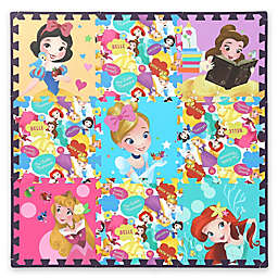 Disney® Princess 9-Piece Flooring Tiles Set