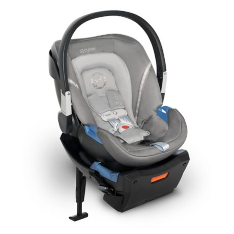 Cybex Aton 2 SensorSafe Infant Car Seat in Lavastone Black
