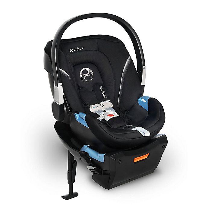 Alternate image 1 for CYBEX Aton 2 SensorSafe™ Infant Car Seat in Lavastone Black