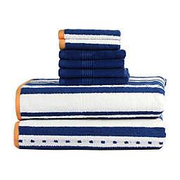 Freshee™ 8-Piece Stripe Towel Set