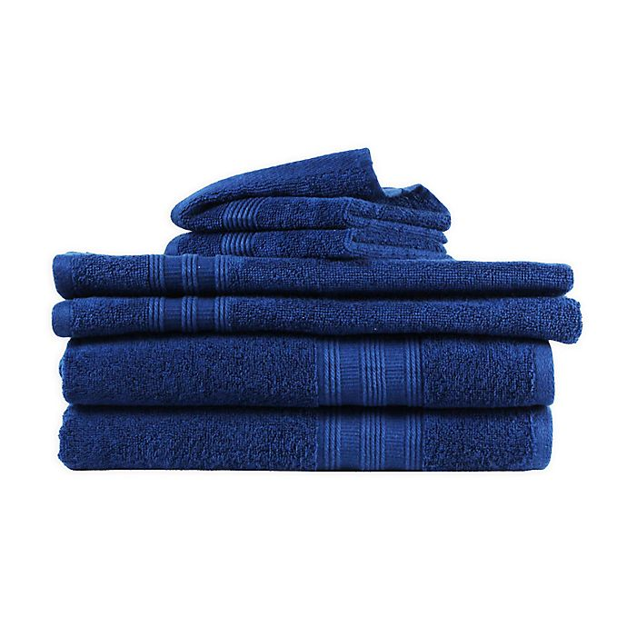 Alternate image 1 for Freshee™ 6-Piece Solid Towel Set