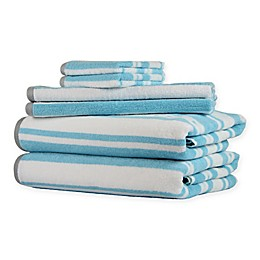 6-Piece Stripe Freshee Towel Set