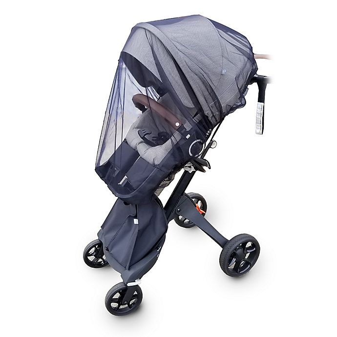 Alternate image 1 for Comfy Baby Solar Protective Deluxe Infant Stroller Netting in Clear