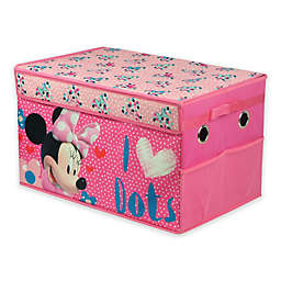 Disney® Minnie Mouse Collapsible Storage Trunk in Pink