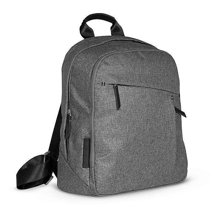 Alternate image 1 for UPPAbaby® Diaper Changing Backpack in Charcoal Melange