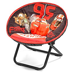 Disney® Cars Upholstered Mini Saucer Kids' Chair